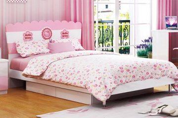 Chọn giường ngủ cho bé gái có tính an toàn cao
