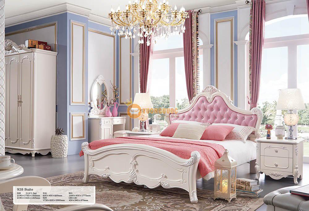 Phòng ngủ cao cấp dễ thương JY928