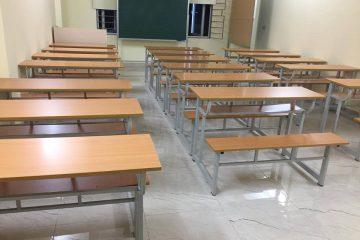 Đồ nội thất trường học hiện đại được dùng bằng gỗ công nghiệp cao cấp
