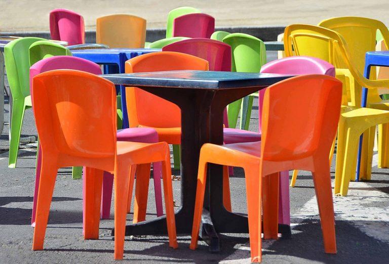 Bàn ghế café nhựa cao cấp