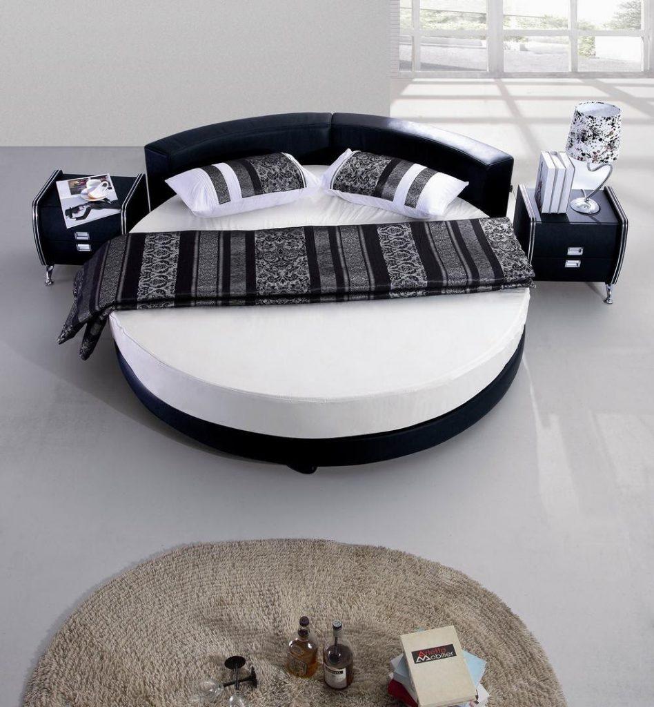 Mẫu giường ngủ hình tròn truyền thống