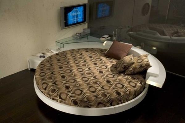 Nên chọn mẫu giường ngủ hình tròn như thế nào phù hợp?